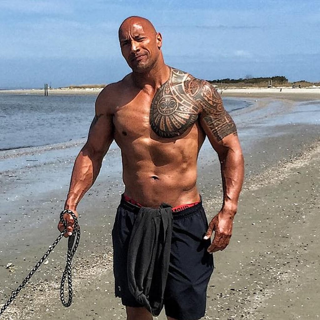 who is dating the rock johnson